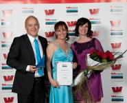 2011 Westpac Business Excellence Awards - photo booth, award winners