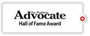 The Northern Advocate Hall of Fame Award