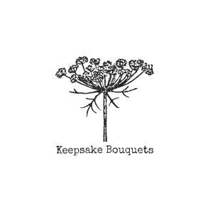 Keepsake Logo White